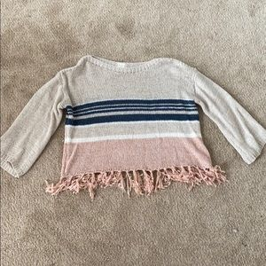 altar'd state cropped sweater